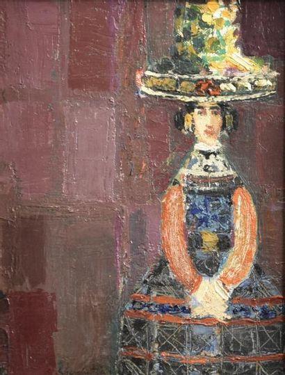 Crikor GARABETIAN (1908-1983)  Femme arménienne...
