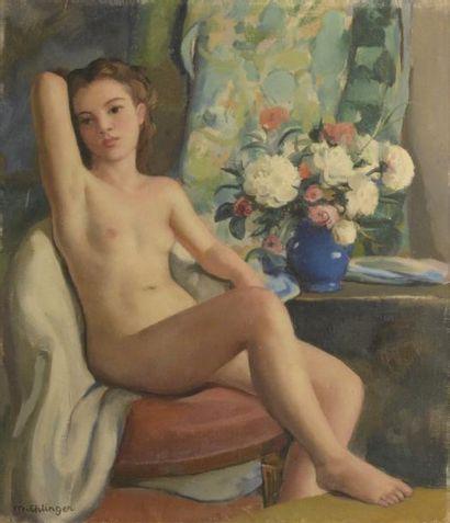 Maurice-Ambroise EHLINGER (1896-1981)  Femme...
