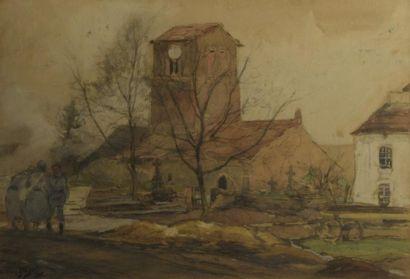 Eugène Louis GILLOT(1867/68-1925)  Scènes...