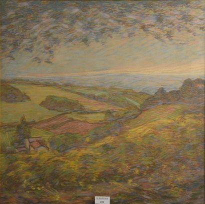 Adrien GODIEN (1873-1949)  Paysage du Lyonnais...