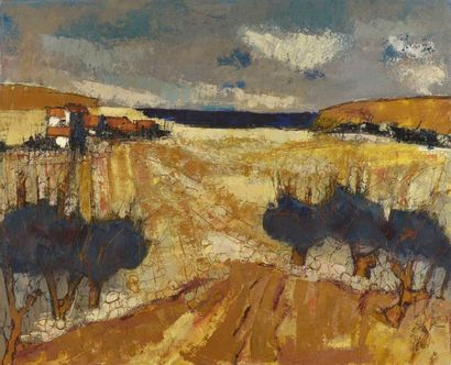 Jacques SAUZE (né en 1925)  Côté du Pradet...