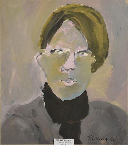 Robert-Louis NICOÏDSKI (1931-2001)  Portrait...