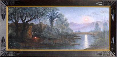 Henri RICHEVILLAIN (XIX-XXe siècle)  Oued...