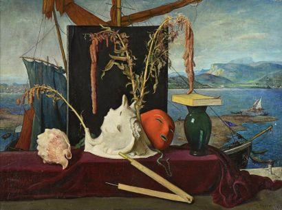 Adolphe DETEIX (1892 - 1967)  Nature morte...