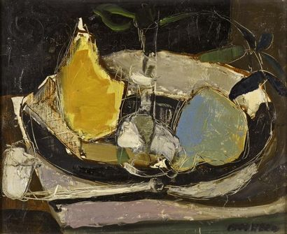 Jean-Jacques MORVAN (1928-2005)  Nature morte...