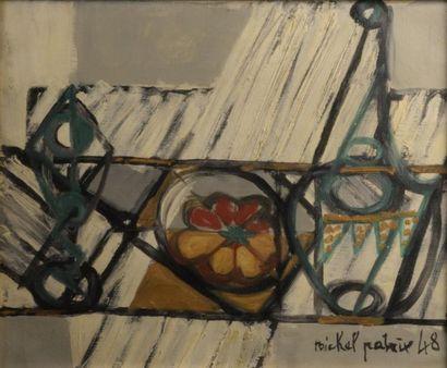 Michel PATRIX (1917-1973)  Nature morte à...