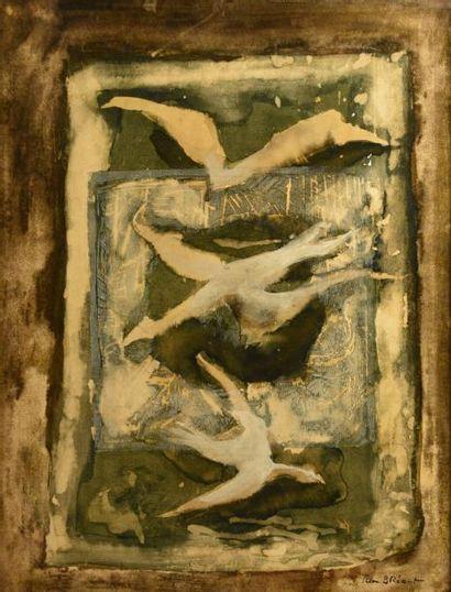 Jean BREANT (1922-1984)  Oiseaux en péril...