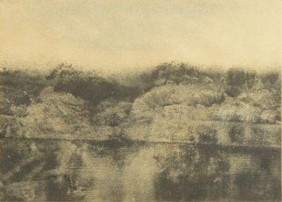 Jean BATAIL (né en 1930)  Paysage à la rivière...