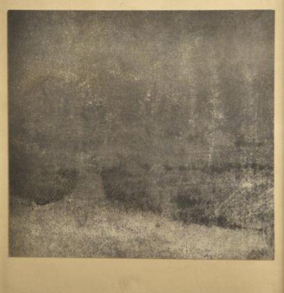 Jean BATAIL (né en 1930)  Paysage nocturne...