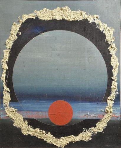 Robert ASCAIN (né en 1932)  Espace solaire...