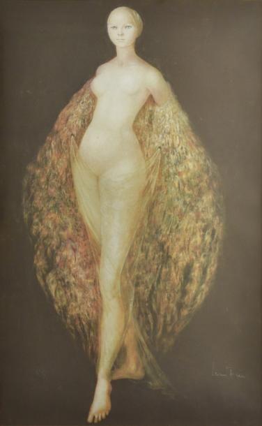 Leonor FINI (1907-1996)  Femme drapée  Lithographie...