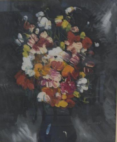 Maurice de VLAMINCK (1876-1958)  Bouquet...