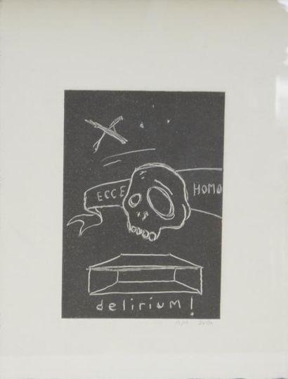 Ecole contemporaines dans le goût de Basquiat...