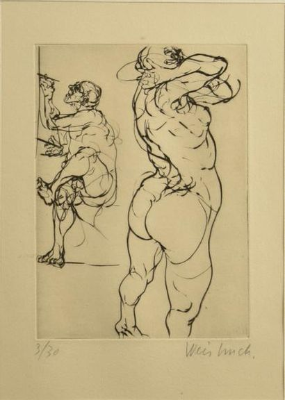 Claude WEISBUCH (1927-2014)  L'artiste et...