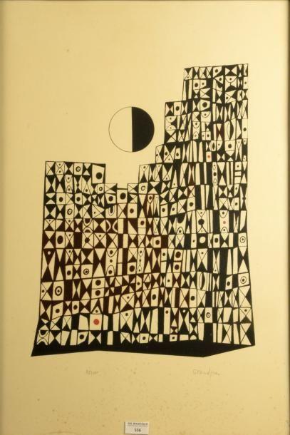 Raymond GRANDJEAN (1929-2006)  Composition...