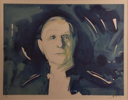 Raymond MORETTI (1931-2005)  Portrait de...