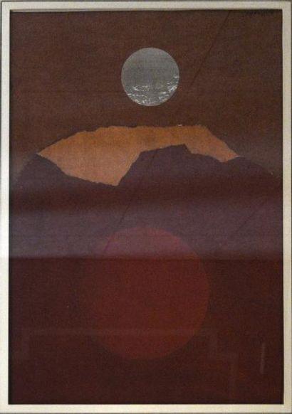 Henri MOUVANT (1926-2015)  Composition à...