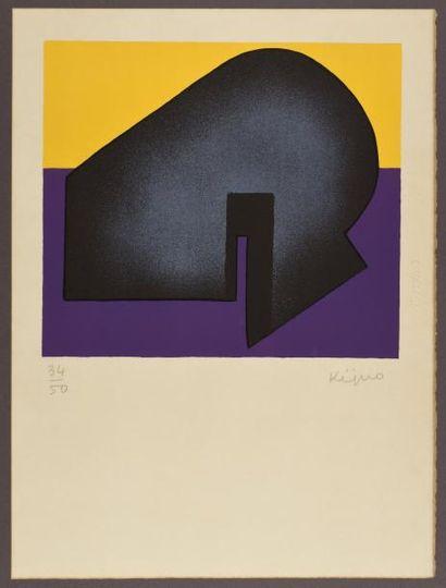 Ladislas KIJNO (1921-2012)  Composition IX,...