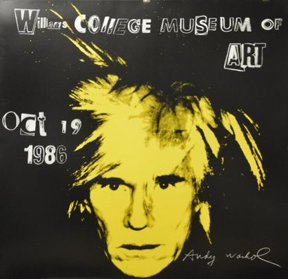 D'après Andy WAHROL (1928-1987)  Autoportrait,...