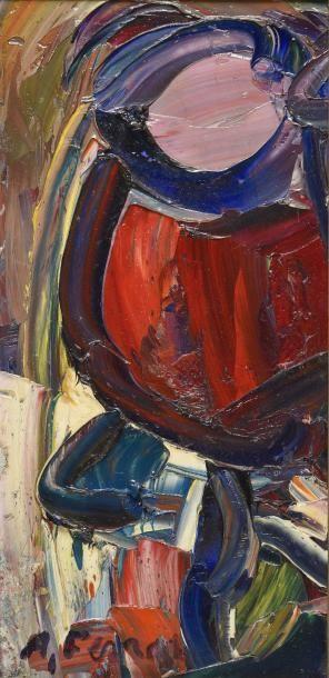 Antoine FERRARI (1910-1995)  Intérieur à...