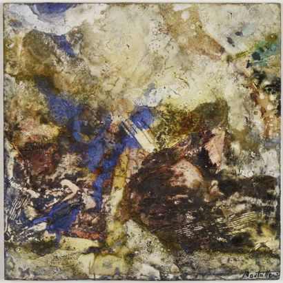 Cédric BOUTEILLER (né en 1940)  Composition...