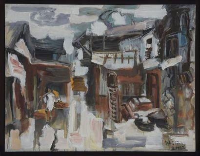 Van Duong Thành (né en 1951), Ecole VIETNAMIENNE...