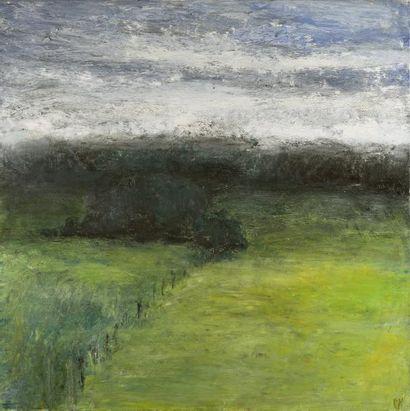 Jean-Paul PICHON-MARTIN (né en 1948)  Paysage,...