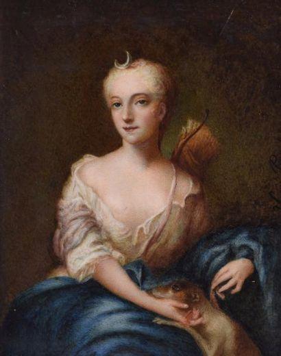 PARIS, dans le goût du XVIIIe siècle Portrait...