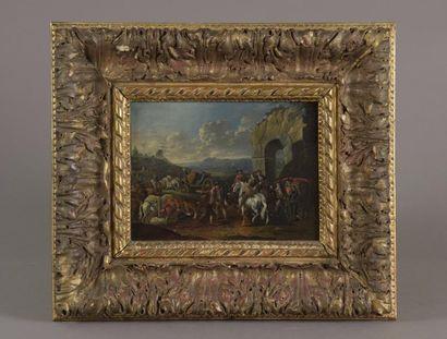 Ecole FLAMANDE ou ALLEMANDE du début du XVIIe...