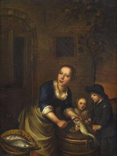 École flamande de la fin du XVIIe siècle,...
