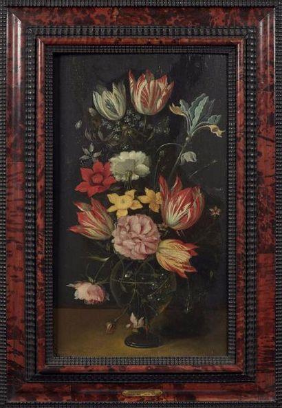 Attribué à Catarina YKENS (née en 1659) Paire...