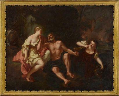 Attribué à Antoine COYPEL (1661-1722) Loth...