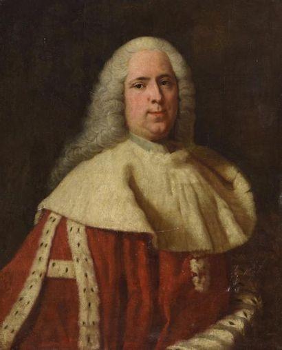 Attribué à Jean-Baptiste VAN LOO (1684-1745)...