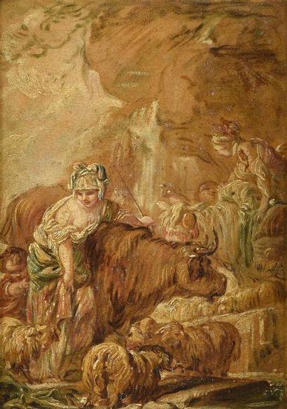 Jean-Baptiste DESHAYES (1729-1765) Paysanne...