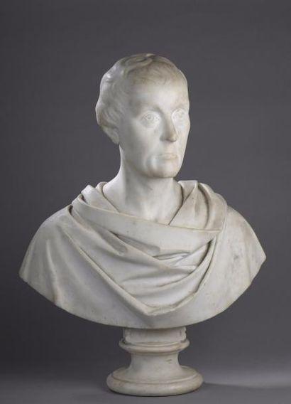 François RUDE (Dijon 1784 - Paris 1855) Buste...