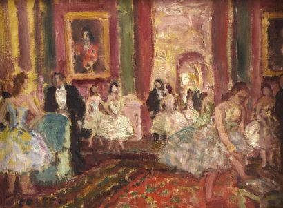 Marcel COSSON (1878-1956) Danseuses dans...