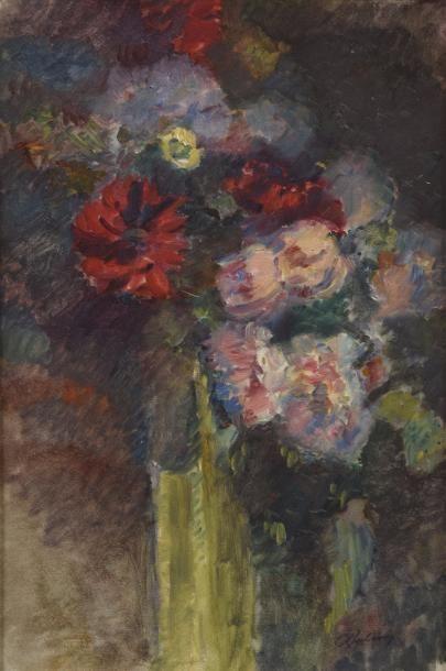 Albert Marie LEBOURG (1849-1928) Bouquet...