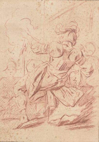 Attribué à Charles PARROCEL (1688-1752) Corps...