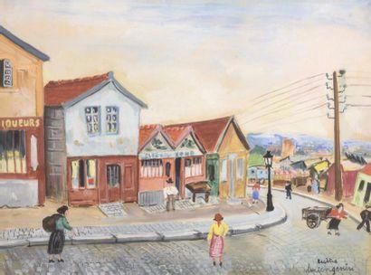 Lucien GENIN (1894-1953) La Zone à Bicêtre...