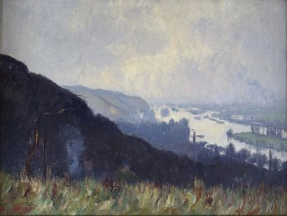 Narcisse GUILBERT (1878-1942) La vallée de...