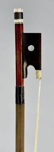ARCHET de violon signé A. DEBLAYE fait chez...