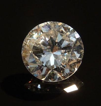 Diamant non monté, taille brillant pesant...