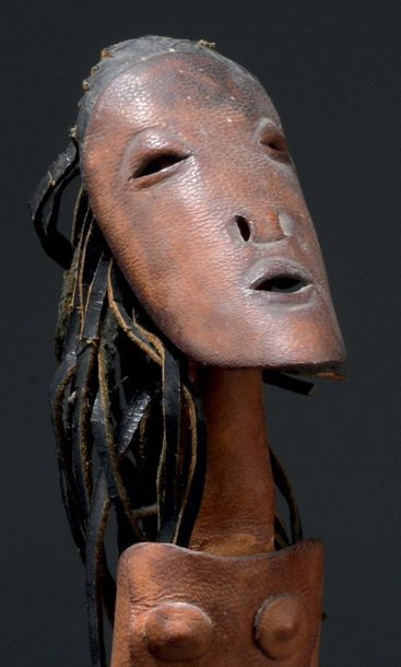 Marie VASSILIEF (1884-1957) * Femme africaine Sculpture signée, située et datée Paris1952...