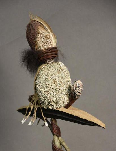 Pierre BLONDEAU (né en 1949) La nef du fou, 1999 Sculpture, assemblage d'éléments...