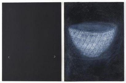 Christine CROZAT (née en 1952) Les bols (XXVII),...