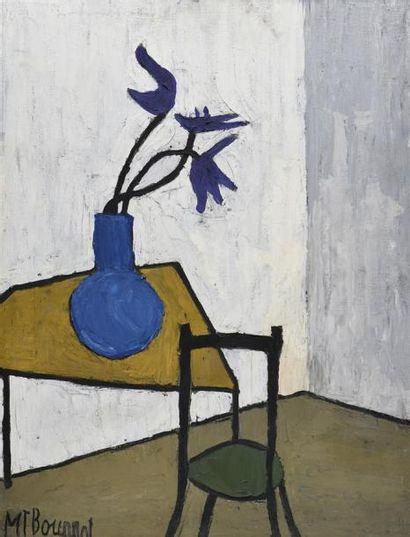 Marie Thérèse BOURRAT (née en 1938) Le bouquet...