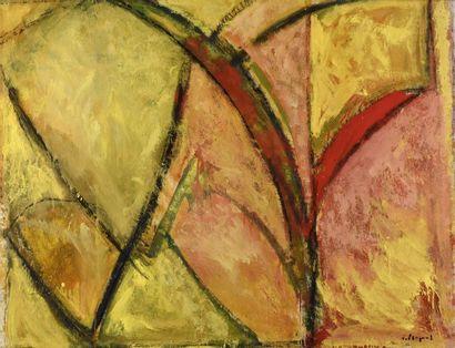 Serge PLAGNOL (né en 1951) Printemps 99 Huile...