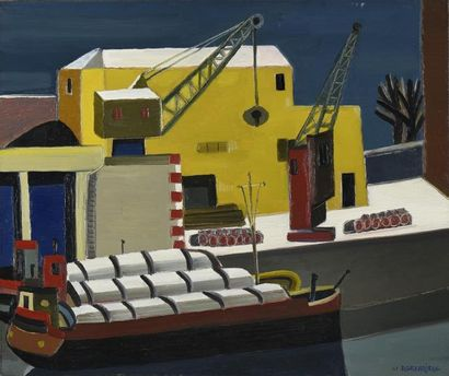 Raymond GRANDJEAN (1929-2006) Quai Rambaud...