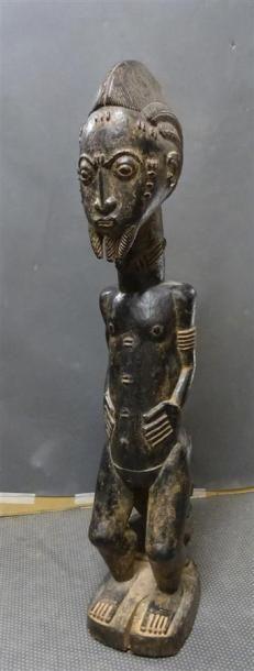 BAOULE - COTE D'IVOIRE Sculpture en bois...