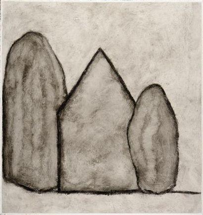 Loïc LE GROUMELLEC (né en 1957) Mégalithes...